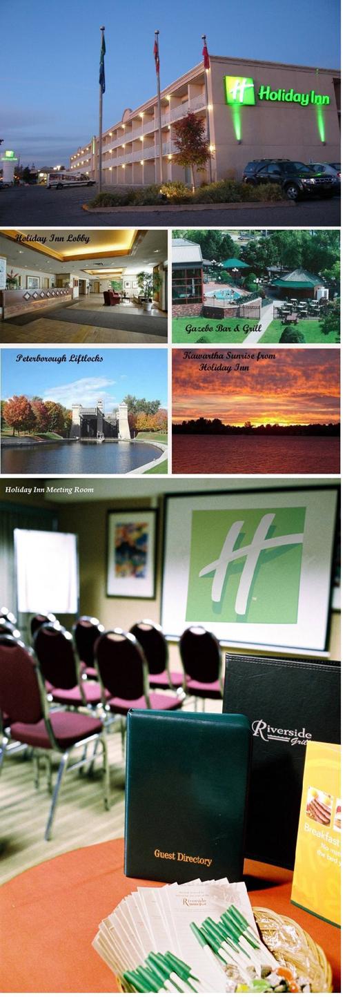 Holiday Inn Peterborough Waterfront lobby, gazebo bar and grill, meeting room