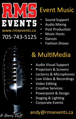 RMS Events Directory Ad