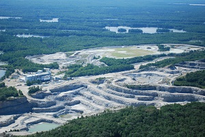 Unimin - Blue Mountain Aerial Survey