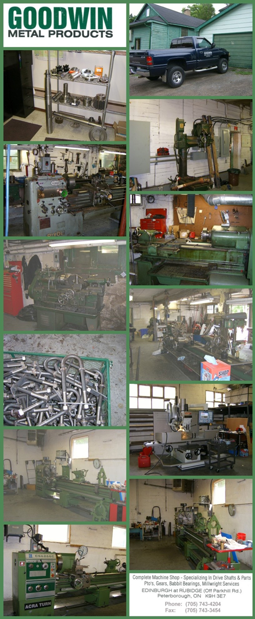 Goodwin Metal Products - Complete machine shop